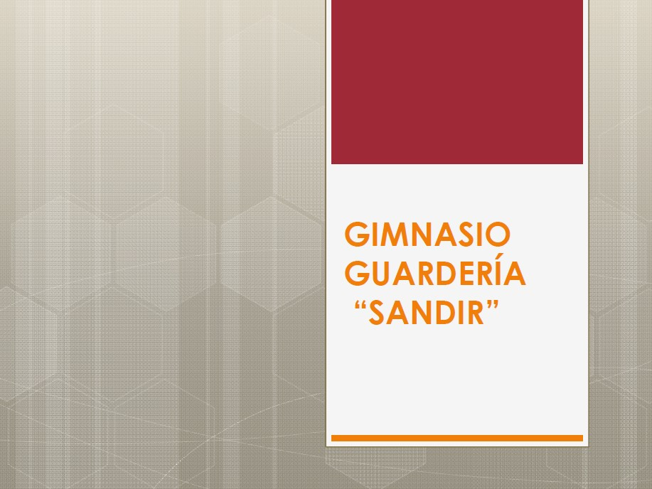 "Gimnasio guardería ""Sandir"" - Growth Center Continental"